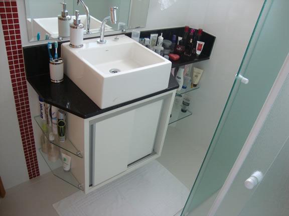 Luiza Valentine  Ambientes Planejados  Banheiro Planejado -> Ncm Banheiro Planejado